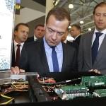 Дмитрий Медведев на выставке Импортозамещение