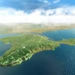 Крым со спутника
